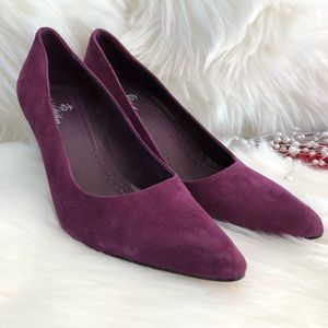 Plum Brooks Brothers Heels